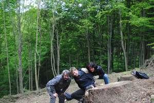 Lesní brigáda Jitka,Jarda,Míra DSC_275